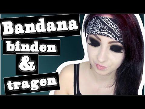 Bandana binden & 5 Arten ein Bandana zu tragen! I Hannah Black