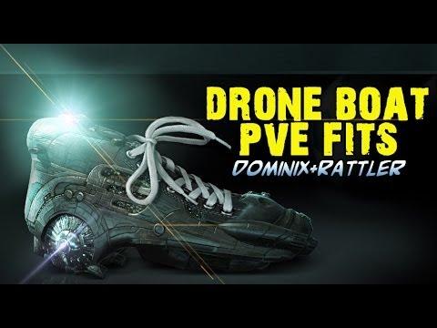 Dominix drone boat fit