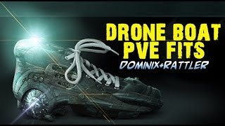 Drone Boat PvE Fits - Dominix & Rattlesnake (out dated)