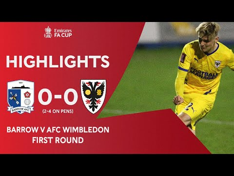 Barrow AFC Wimbledon Goals And Highlights
