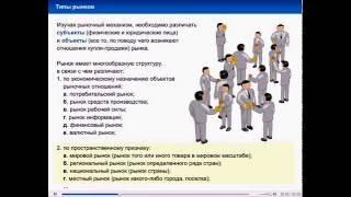 видео Типы рынков. Типы рынков в экономике. Тип рынка в России