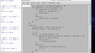 Python 65 String Split