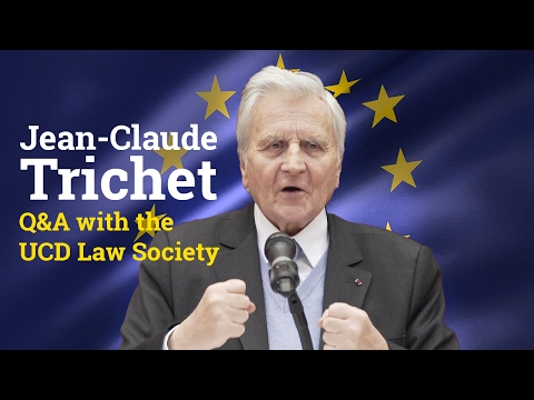 Jean-Claude Trichet: Q&A with the UCD Law Society (2017)