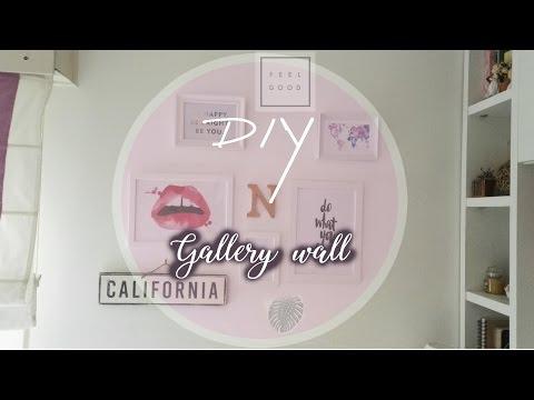 DIY Tumblr Wall Art! Cheap & Easy Room Decor || Natalia Lopez