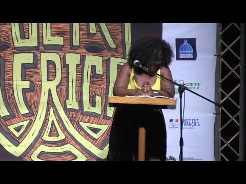 Black Pearl at POETRY AFRICA 2014