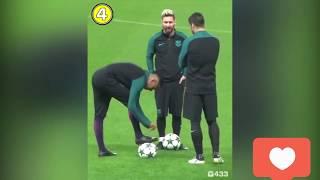 приколы футбол 2018 Neymar Ronaldo Mbappe