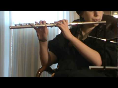 Me playing Build me up Buttercup by The Foundations on Flute