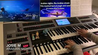 Arabian Nights (Aladdin 2019, Will Smith) - Yamaha Electone ELS02C
