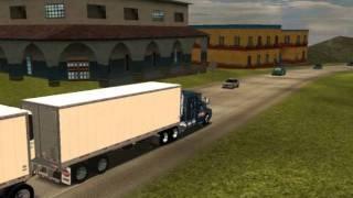 18 wheels of steel haulin kenworth t600 flattop