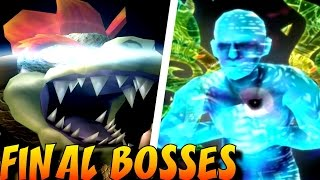 Super Smash Bros. - ALL Final Bosses (1999-2016)