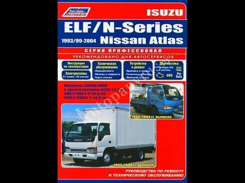 Руководство по ремонту  ISUZU ELF / N-series / NISSAN ATLAS