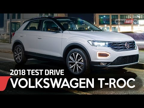 2018 VOLKSWAGEN T-ROC 1.0 TSi 115 CP | TEST DRIVE eblogAUTO