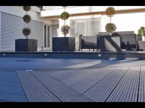 eco wood plastic  flooring for terrace easy clean