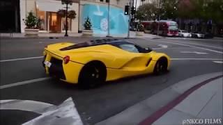Ferrari Laferrari terrorizing Beverly Hills