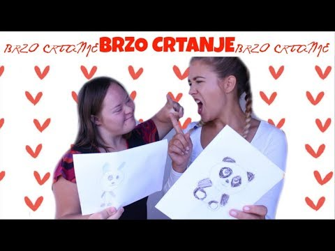 BRZO CRTANJE IZAZOV ft. Gabriela - Debela Barbara