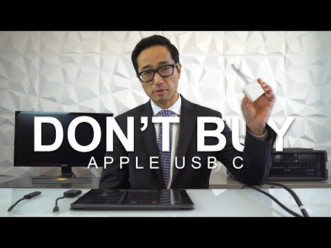 Don't Buy The Apple USB C Adapter For Your IPad Pro