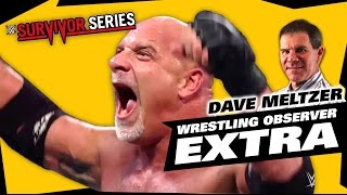 Dave Meltzer Reacts to Goldberg vs Brock Lesnar Survivor Series 2016 | The LAW