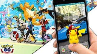 Pokemon GO ESTA DE CUMPLEAÑOS!! NUEVO EVENTO Pikachu con GORRA DE ASH - CAJA DE ANIVERSARIO Y MAS !!