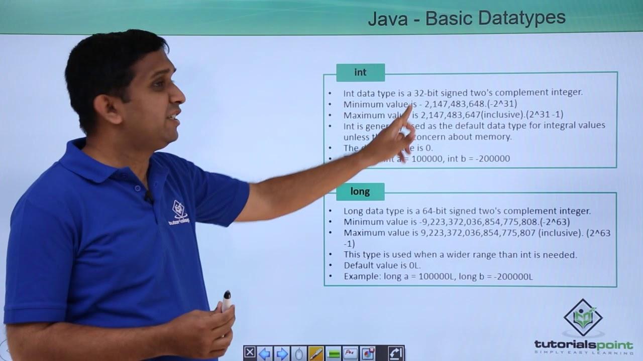 Java basic data types youtube java basic data types tutorials point baditri Gallery