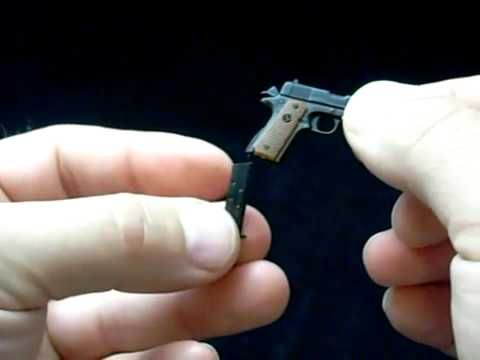 Colt 1911 .45 ACP Miniature Steel Pistol - Working Parts