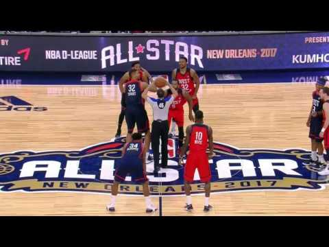 NBA D-League All-Star Game: Edy Tavares Highlights - February 18, 2017