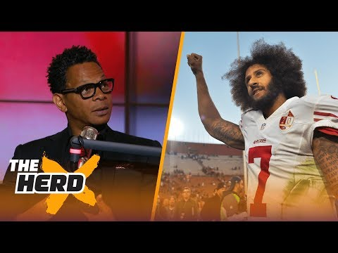 Does Colin Kaepernick need to change his appearance? Eric Davis weighs in   THE HERD