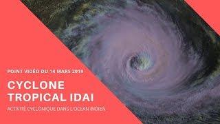 IDAI va frapper le Mozambique : Point vidéo du 14/03/2019