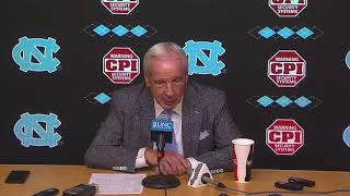 UNC Men's Basketball: Roy Williams Post Clemson Press Conference