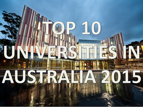 Top 10 Best Universities In Australia 2015/Top 10 Universidades De Australia 2015