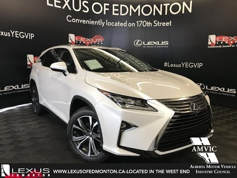 2018 Lexus RX 350L Luxury Package Walkaround Review Downtown Edmonton Alberta