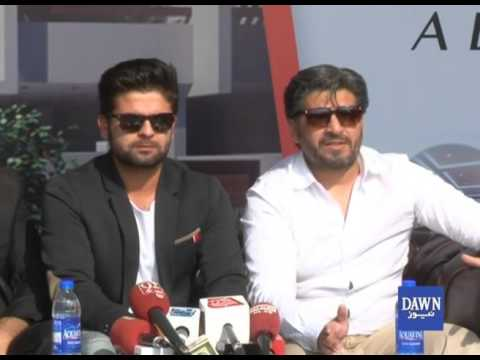 Ahmed Shehzad press conference