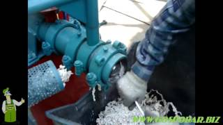 Мощный кормовой экструдер повышенной производительности - 320 кг/час мощностью 30 кВт