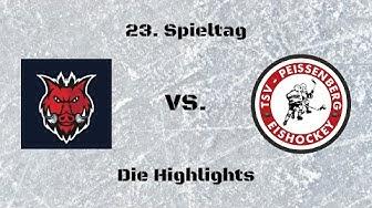 "EC Pfaffenhofen ""Eishogs"" vs. TSV Peißenberg ""Eishackler"" | Die Highlights"