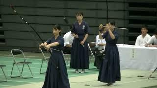 第65回全日本学生弓道選手権 女子団体【3位決定】 立命館・関西学院