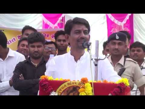 Alpesh Thakor Speech at Thara For Gujarat Elections 2017 | Thakor Sena