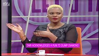 Zari Hassan's Fans Challenge Her To Leave Diamond Platnumz