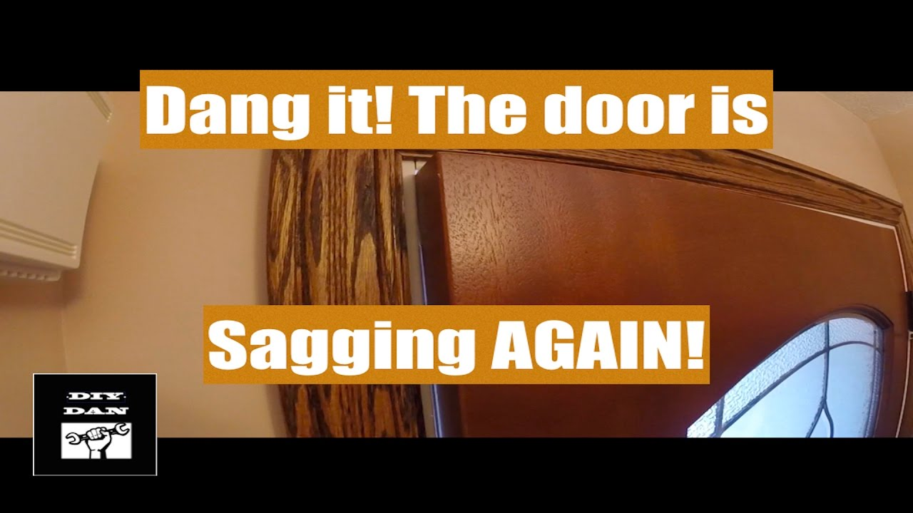 How To Fix A Sagging Door >> How To Fix A Sagging Or Rubbing Door