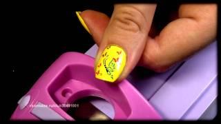 Стемпинг-дизайн ногтей (диски J)