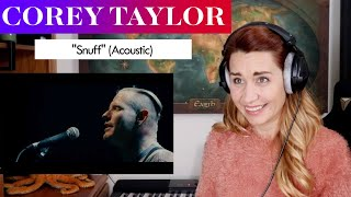 "Download Corey Taylor ""Snuff"" (Acoustic) REACTION & ANALYSIS by Vocal Coach/Opera Singer"