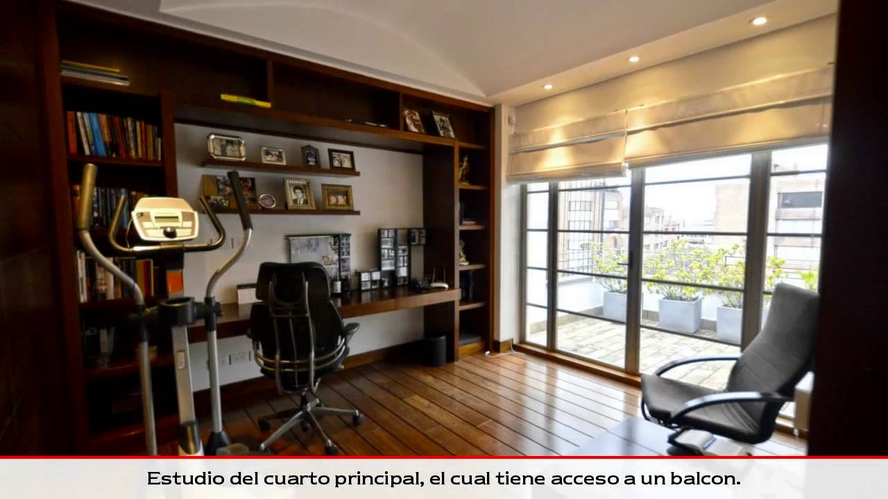 Venta y compra casas moderna con terraza en rosales for Casa moderna bogota