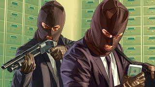 Играем в GTA Online: Ограбления . Запись прямого эфира