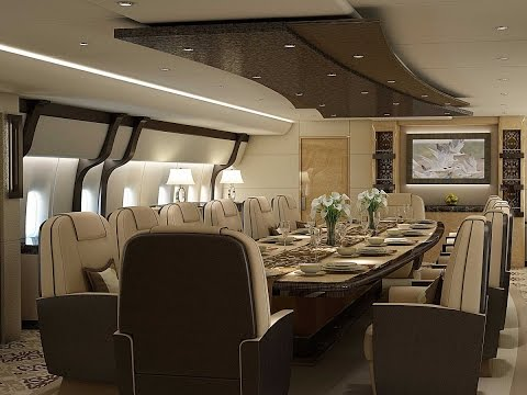 This 747 Private Jet Is A Palace In The Sky - Architecture & Design