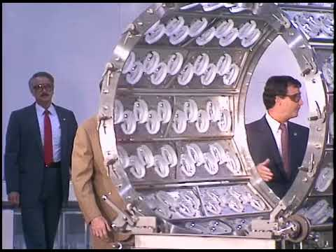 President Reagan's Trip to US Precision Lens in Ohio on August 8, 1988