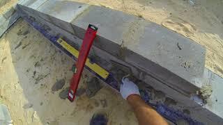 Budowa domu samemu systemem gospodarczym.Murowanie scian fundamentów dzień 2#6