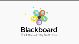 Blackboard - The New Learning Experience