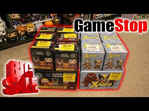 Hunting For $2.50 BOGO Mystery Minis at GameStop!