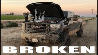 he-broke-his-truck-off-roading-2-trucks-down