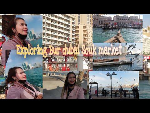 Walking around Dubai creek and Exploring Bur dubai Souk Market 13/02/2021 #Dubailife #AmazingDubai