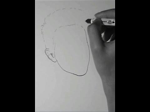 """วาดรูป การ์ตูน """"เจมส์ มาร์  (ดารา นักแสดงชาย)"""" - How To Draw People #03"""