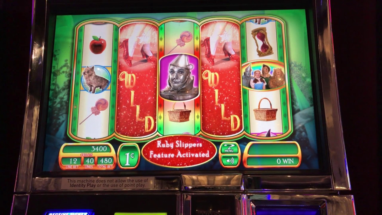 Wms slots wizard of oz